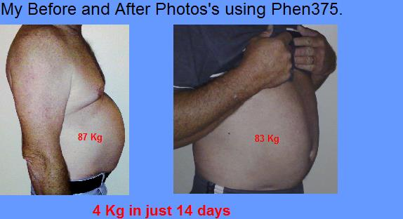 John after 14 days on Phen375